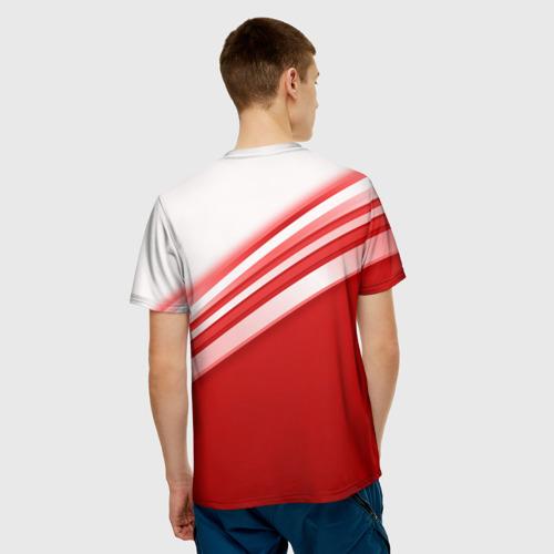 RUSSIA SPORT (мужская футболка 3d с полной запечаткой) вид 2