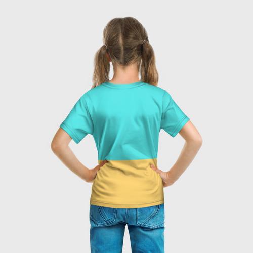 Детская футболка 3D  Фото 04,  Пирамиды Египта