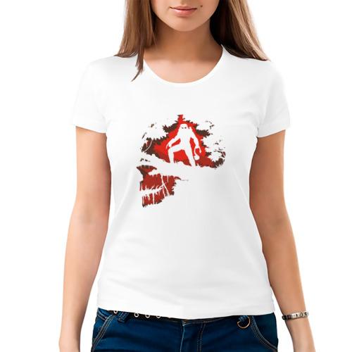 Женская футболка хлопок  Фото 03, PREDATOR