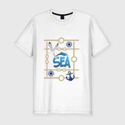 Надпись-море