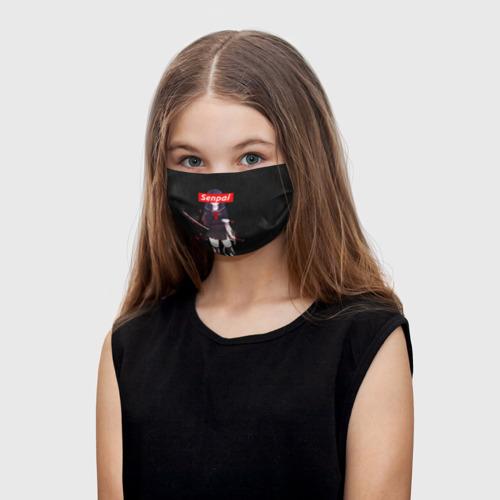 Детская маска (+5 фильтров) СЕНПАЙ - SENPAI Фото 01