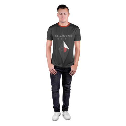 Мужская футболка 3D спортивная No Man's Sky Next Фото 01