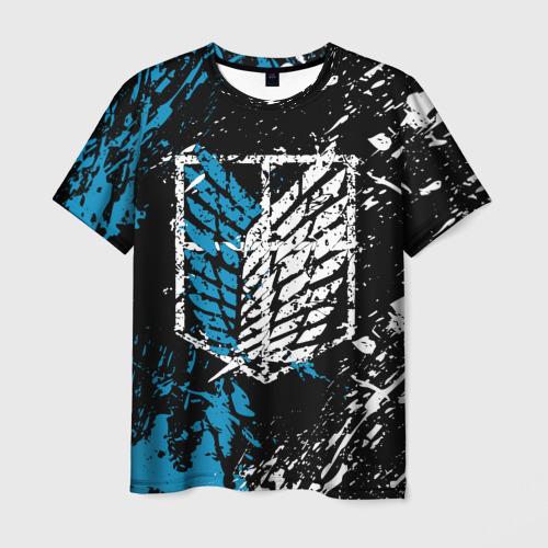 Мужская футболка 3D АТАКА ТИТАНОВ в основных цветах Фото 01