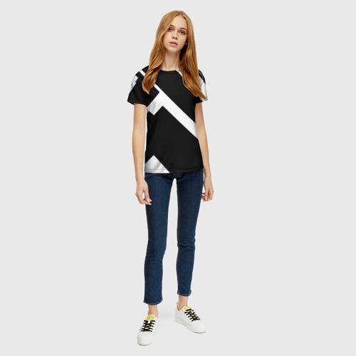 Женская футболка 3D Geometry Фото 01