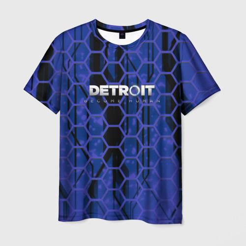 Мужская футболка 3D  Фото 01, Detroit:become human