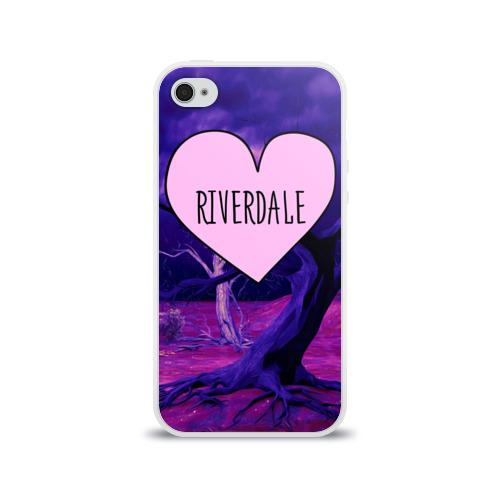Чехол для Apple iPhone 4/4S силиконовый глянцевый  Фото 01, Heart