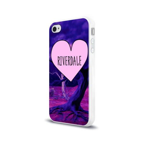 Чехол для Apple iPhone 4/4S силиконовый глянцевый  Фото 03, Heart