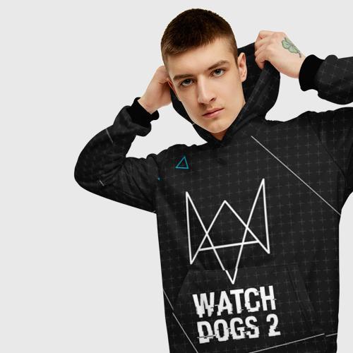 Мужская толстовка 3D  Фото 01, WATCH DOGS 2