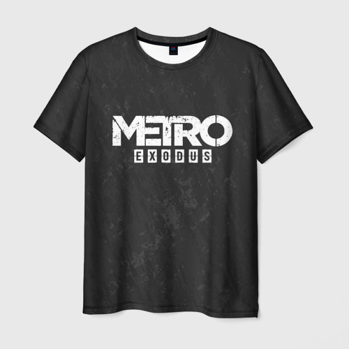 Мужская футболка 3D  Фото 03, METRO EXODUS
