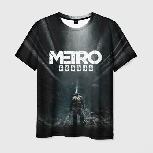 Мужская футболка 3D METRO EXODUS Фото 01