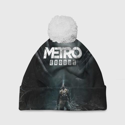 Шапка 3D c помпоном METRO EXODUS