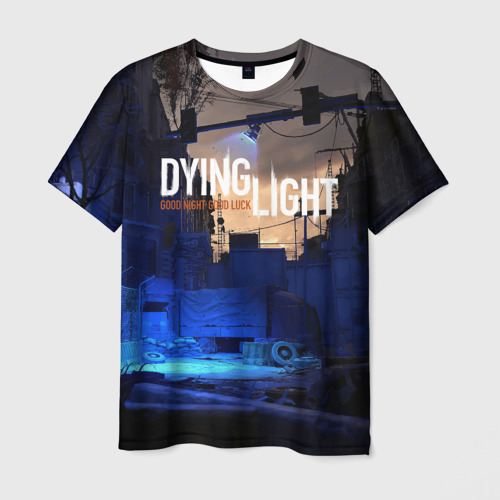 Мужская футболка 3D GOOD NIGHT AND GOOD LUCK Фото 01