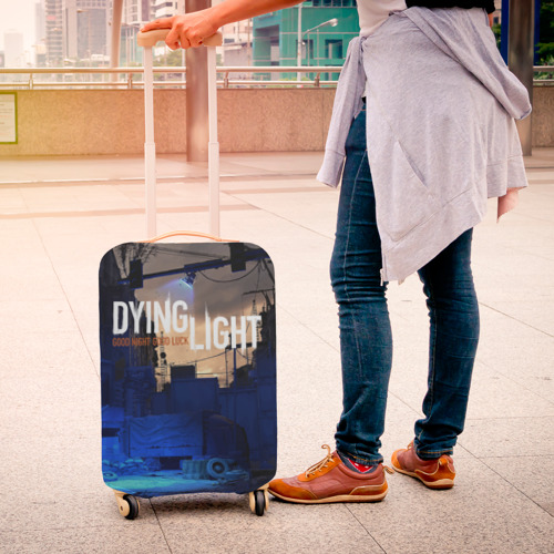 Чехол для чемодана 3D GOOD NIGHT AND GOOD LUCK Фото 01