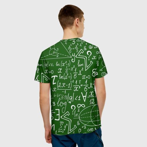 Мужская футболка 3D ФОРМУЛЫ ФИЗИКА Фото 01