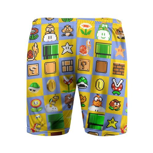 Мужские шорты 3D спортивные  Фото 02, Super Mario Pop art