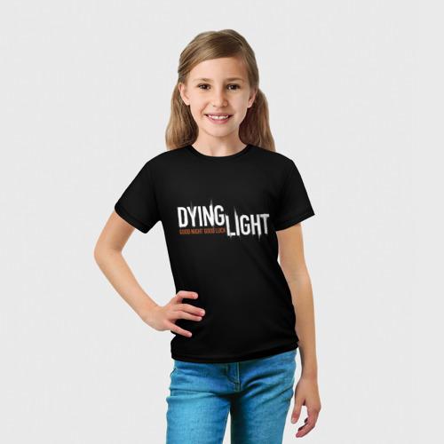 Детская футболка 3D  Фото 03, DYING LIGHT