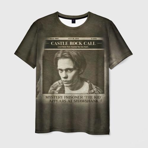 Мужская футболка 3D Castle Rock - Mystery prisoner