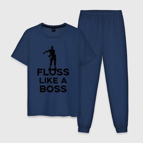 Мужская пижама хлопок Floss like a boss  Фото 01