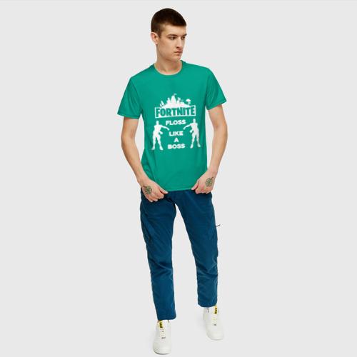 Мужская футболка хлопок Floss like a boss  Фото 01
