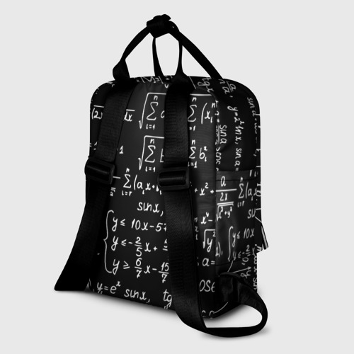 Женский рюкзак 3D ФОРМУЛЫ АЛГЕБРА Фото 01