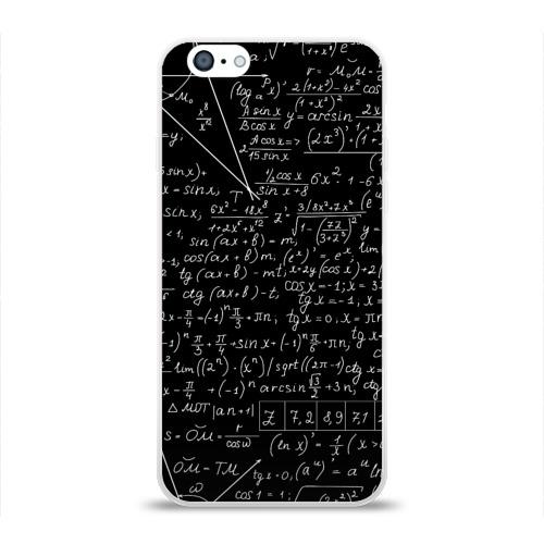 Чехол для Apple iPhone 6 силиконовый глянцевый  Фото 01, ФОРМУЛЫ АЛГЕБРА