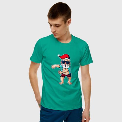 Мужская футболка хлопок Santa floss Фото 01