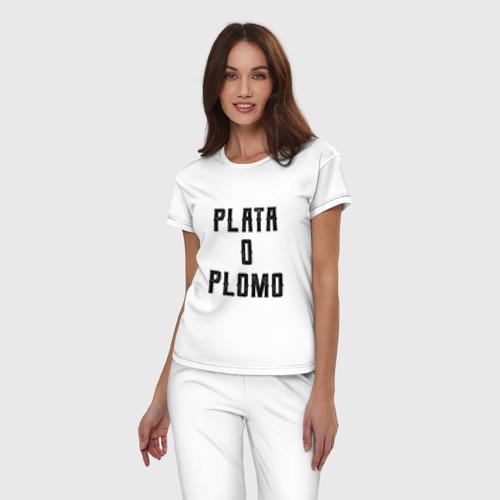 Женская пижама хлопок Plata o Plomo Фото 01