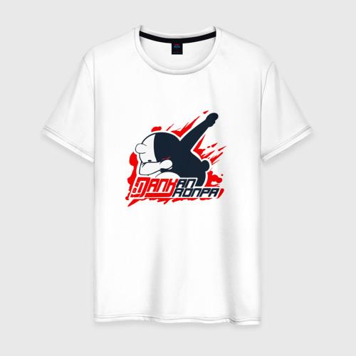 Мужская футболка хлопок MONOKUMA DAB DAB