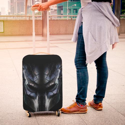 Чехол для чемодана 3D  Фото 04, Хищник фильм