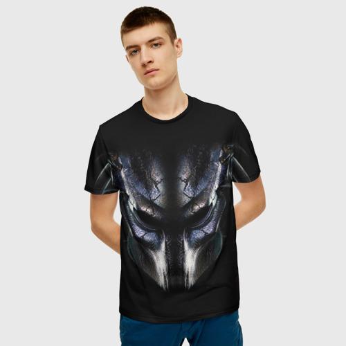 Мужская футболка 3D  Фото 06, Хищник фильм