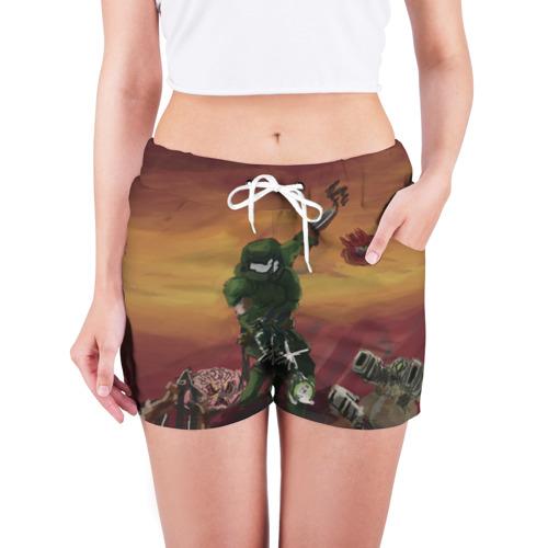 Женские шорты 3D  Фото 03, DOOM