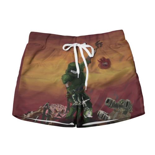 Женские шорты 3D  Фото 01, DOOM