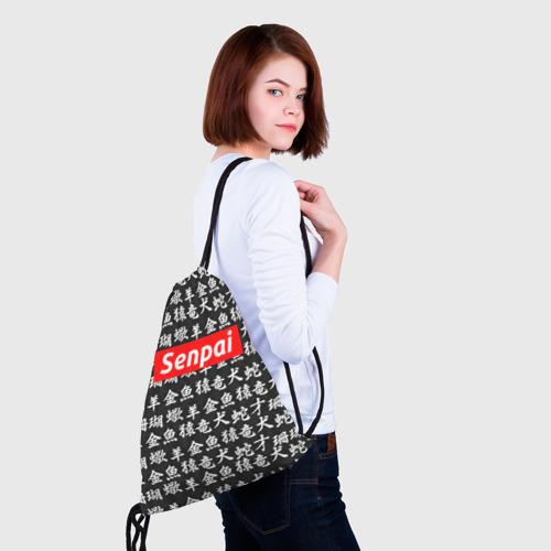 Рюкзак-мешок 3D СЕМПАЙ - SENPAI  Фото 01