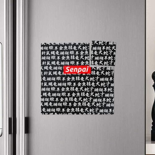 Магнитный плакат 3Х3 СЕМПАЙ - SENPAI  Фото 01
