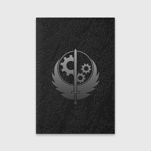 """Обложка для паспорта """"БРАТСТВО СТАЛИ"""" (из матовой кожи) фото 0"""
