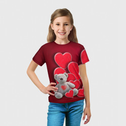 Мишка с сердечками