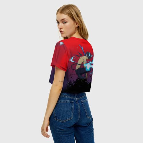 Женская футболка Crop-top 3D Окамура Рин Фото 01