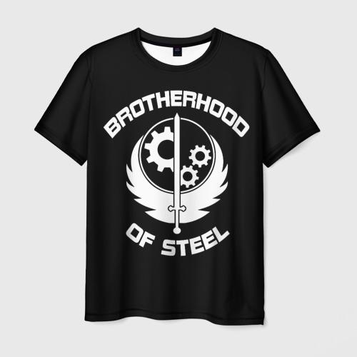 Мужская футболка 3D 'БРАТСТВО СТАЛИ'