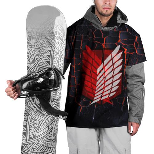 Накидка на куртку 3D Атака Титанов Фото 01