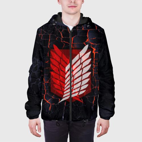 Мужская куртка 3D Атака Титанов Фото 01