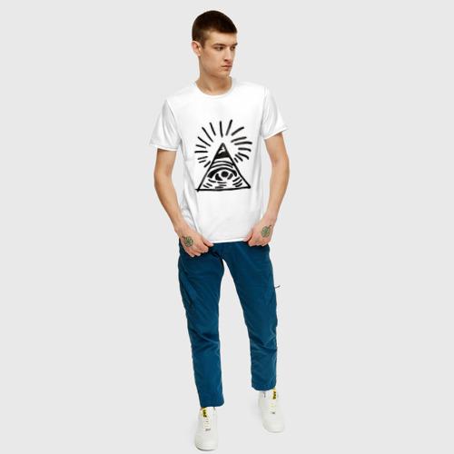 Мужская футболка хлопок Life Is Strange: Око Фото 01