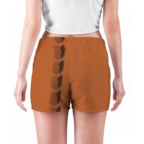 Женские шорты 3D  Фото 04, Новая форма Атака Титанов