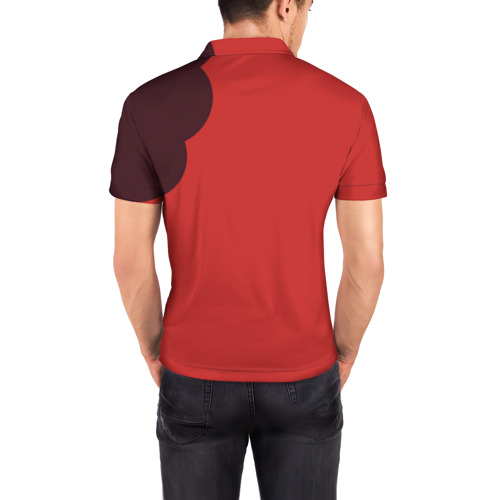 Мужская рубашка поло 3D  Фото 04, Атака титанов