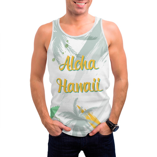 Мужская майка 3D Aloha Hawaii Фото 01
