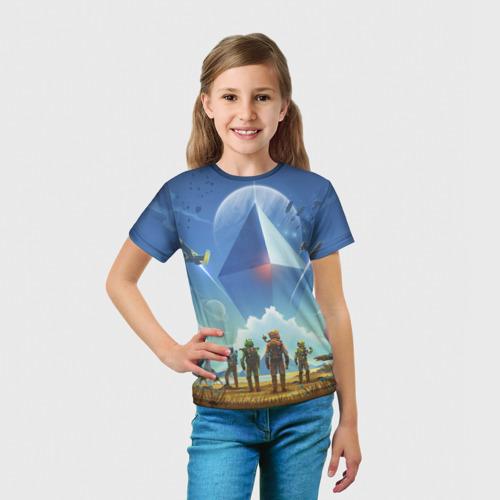 Детская футболка 3D  Фото 03, No man's sky