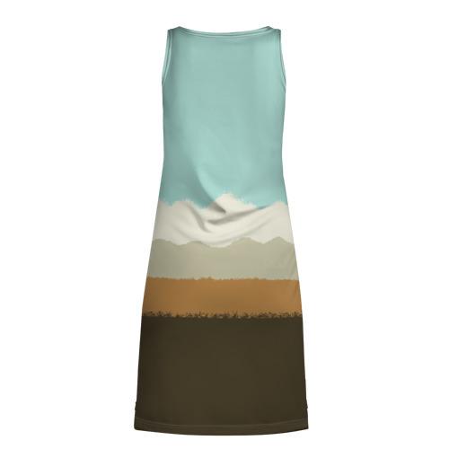"""Платье-майка 3D  Фото 02, Градиент \""""Калифорния\"""""""