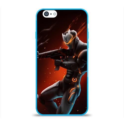 Чехол для Apple iPhone 6 силиконовый глянцевый Omega / Fortnite Фото 01