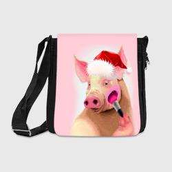 Новогодняя свинья