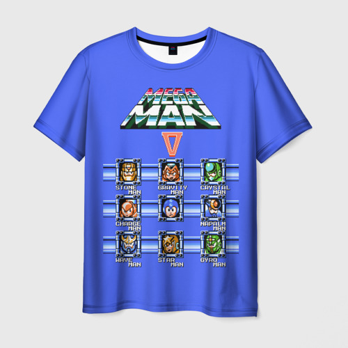 Мужская футболка 3D  Фото 03, Megaman 5