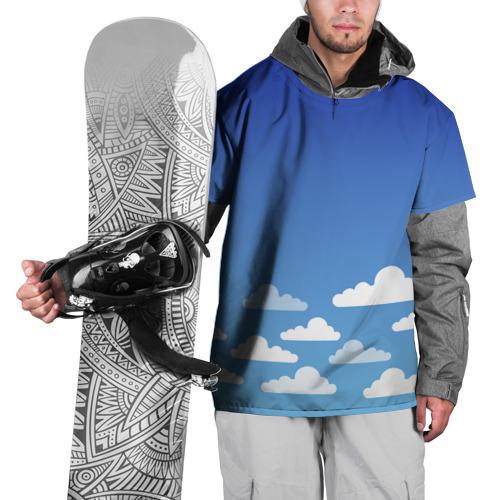 Накидка на куртку 3D  Фото 01, clouds